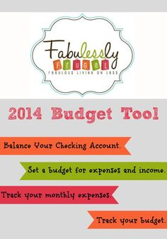 Awesome budget program to help you make a budget and track expenses. Super easy to use too!