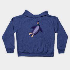PENGUIN 1 - Penguin - Kids Hoodie | TeePublic