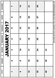 January Calendar Editable  January Calendar Editable  Calendar