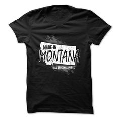 Montana t-shirt - Made in Montana T Shirt, Hoodie, Sweatshirt