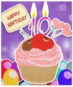 Happy 10th Birthday Wishes
