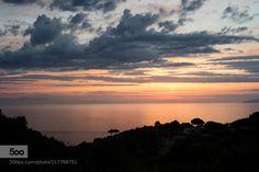 Peaceful by franzengels  4c Abendstimmung Elba Landschaftsfotografie Sonnenuntergang evening light evening mood island of elb
