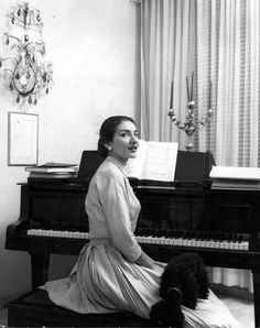 Maria Callas - opera singer (1923-1977)