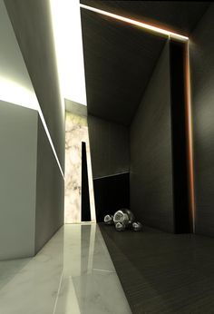 Get Award Winning Design Ideas in Seconds Light Architecture, Residential Architecture, Contemporary Architecture, Interior Architecture, Futuristic Interior, Modern Interior, Interior And Exterior, Interior Design, Corridor Design