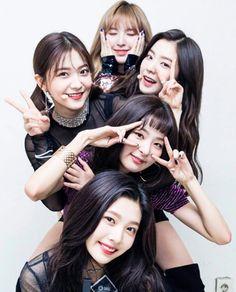 So fuckin precious Red Velvet 🍰♥️ Seulgi, Kpop Girl Groups, Korean Girl Groups, Kpop Girls, Irene, Red Velvet Joy, Kim Yerim, Pretty Asian, Peek A Boos