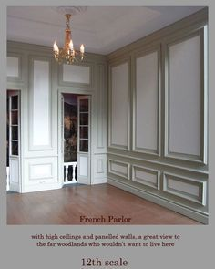 wainscoting french decor wall panels - Google Search