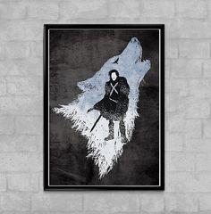 Game Of Thrones Jon Snow d'hiver est à venir Poster Minimal  Nos affiches sont de meilleure qualité et durée de vie garantie (plus de 100 ans). Nous utilisons seulement les meilleurs papiers lourd lustre (290gsm)   -Tailles en pouces et cm:  -4 x 6... (10 cm x 14,8 cm)... (A6) -5,8 x 8,3... (14, 8 x 21 cm)... (A5) -8,3 x 11,7... (21 cm x 29, 7cm)... (A4) -11,7 x 16.5... (29, 7 cm x 42 cm)... (A3) -16.5 x 23,4... (42 cm x 59,4 cm)... (A2) -23,4 x 33,1... (59,4 cm x 84,1 cm)... (A1)    -Cadre…