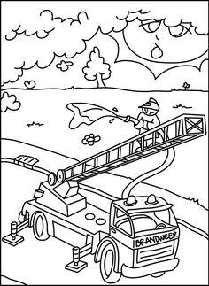 ausmalen feuerwehr