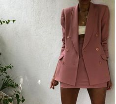 blue blazer outfits for women classy Vintage Outfits, Classy Outfits, Stylish Outfits, Vintage Fashion, Vintage Womens Clothing, Mode Outfits, Fashion Outfits, Womens Fashion, Fashion Trends