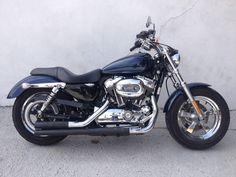 Harley-davidson Sportster Xl 1200 Custom 2012 - Azul - Ano 2012 - 20718 km - em Mercado Livre