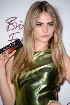 Cara Delevingne Photos - British Fashion Awards 2012 - Awards Room - Zimbio