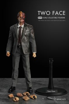 Nerve Toys 1/6 Scale Two Face Action Figure The Dark Knight