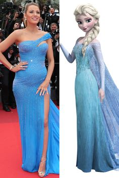 43 Times Celebrities Channeled Disney Princesses on the Red Carpet