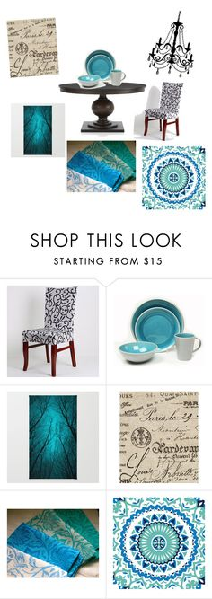 """""""Untitled #48"""" by carolyn-saltsman ❤ liked on Polyvore featuring interior, interiors, interior design, home, home decor, interior decorating, Baum, Country Curtains and RoomMates Decor"""