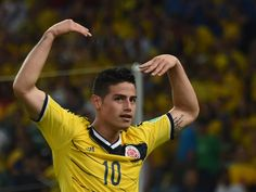 This World Cup Wonder Goal Needs To Be Seen Again And Again - Colombia's midfielder James Rodriguez celebrates scoring the 2-0 goal during the Round of 16 football match between Colombia and Uruguay at the Maracana Stadium in Rio de Janeiro