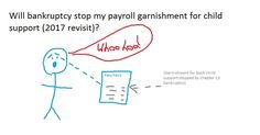 Will bankruptcy stop my payroll garnishment for child support (2017 revisit)? | robertspaynelaw.com My Utah Bankruptcy Blog