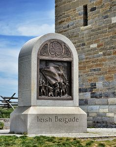 Irish Brigade Antietam Monument!Maybe some of my ancestors were in the Irish Brigade as my family is from Ireland and New York....