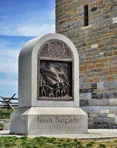 Irish Brigade Antietam Monument!Maybe some of my ancestors were in the Irish Brigade as my family is from Ireland and New York....