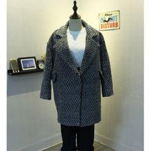 Áo khoác dạ nữ dài tay, thiết kế mới lạ trẻ trung, thời trang thu đông