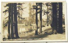 Laurelhurst Park, vintage Portland Oregon. Home sweet home.