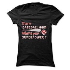 I'm A Baseball Mom T-Shirts | DonaShirts.com - Dare To Be T-Shirts, Hoodies And Custom