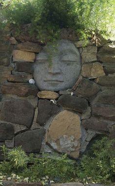 Cool garden wall