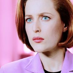When he tells you that there's no way he could be considered sexist now he's so into drinking rosé. | 24 Dana Scully Faces To Shut Down Unsolicited Men's Opinions