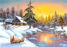 Зимняя сказка Виктора Цыганова. Обсуждение на LiveInternet - Российский Сервис…