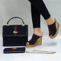 Classy Tommy Hilfiger flat women shoes available in different sizes and colours with matching handbag and wallet Gucci Sneakers Outfit, Louis Vuitton Shoes Sneakers, Lv Boots, Gucci Boots, Gucci Handbags Outlet, Chanel Sandals, Versace Shoes, Gucci Fashion, Sneaker Heels