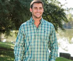 The latest addition to Southern Marsh Collection, the Cumberland Plaid Dress Shirt, is sure to be an instant staple in your wardrobe. The fabric is made of softly spun, double-ply cotton yarn, pre-shr
