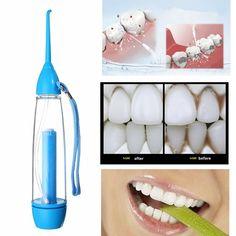 Yas irrigador oral neumática chorro de agua dental limpieza dental flosser