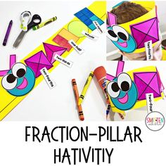 Fraction activities, games, and read alouds for 1st and 2nd grade