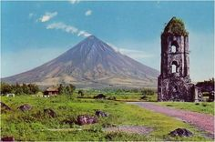 - Mayon Volcano  Legazpi city, Albay, Bicol-  The cone is considered to be the world's most perfectly-formed volcano (Mayon is the most active volcano in the Philippines having erupted over 48 times in the past 400 years.)