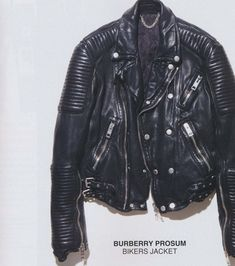 ZsaZsa Bellagio – Like No Other. Men's Fashion...Burberry Biker's Jacket...