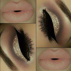 Beautiful glitter cut crease with Eye Kandy's Jingle Bells www.eyekandycosmetics.com
