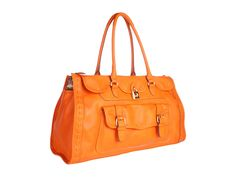 Jessica Simpson Madison Sold Large Satchel Orange