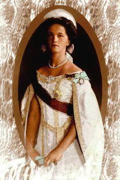 Grand Duchess Olga Romanov.