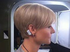 Image result for growing out short hair illustration