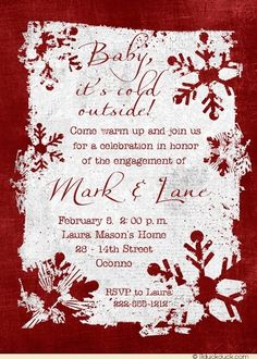 71 Best Winter Party Invitations