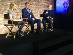 And welcome to the stage @hughbon and @Carmichelle #DowntonQA  ..