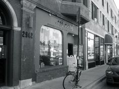Aje Cafe Chicago, IL - awesome place to study, eat, and just chill out in Lakeview East.