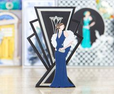 Make timeless and elegant card designs with the @tatteredlaceuk Art Deco Range! / cardmaking / papercraft / scrapbooking / 1920s
