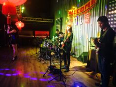 2nd April, Thurs.  Vocalist : Ann & Kelly Drummer : Wayne Tan Guitarist : Haoto Sakuragi & Eddy Ng Bassist : Tan Jen Wei