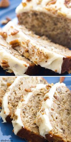 This easy hummingbird bread recipe is full of the flavors of the classic southern hummingbird cake! This simple quick bread recipe is filled with sweet flavor, and is topped with the best cream cheese frosting! Hummingbird Bread with Cream Cheese Frosting Best Bread Recipe, Quick Bread Recipes, Banana Bread Recipes, Sweet Recipes, Banana Bread Recipe With Cream Cheese, Simple Bread Recipe, Breakfast Bread Recipes, Quick Dessert Recipes, Banana Nut Bread