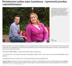 MLL:n Uudenmaan piiri etsii uusia perhekummeja Uudellamaalla. Länsiväylä, Helsingin Uutiset ja Vantaan Sanomat julkaisivat perhekummeista kertovan jutun lehtiensä nettisivuilla 4.10.2015