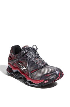 Mizuno Wave Prophecy.  My running shoes.  like walking on clouds I tell you...clouds.