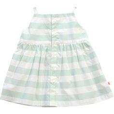 Tiny Cottons Stripes Dress - Blue and White Blue Dresses, Short Dresses, Summer Dresses, Mint Dress, White Dress, Baby Girl Fashion, Kids Fashion, Stylish Little Girls, Striped Fabrics