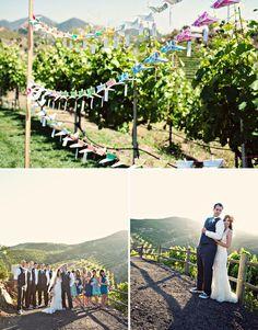 Real Wedding: Lauren + Jeff's Whimsical Fun Wedding