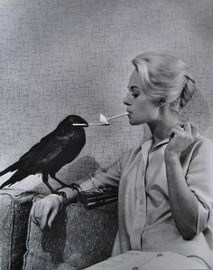"Tippi Hedron...in Hitch´s film ""The Birds"""