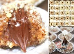 Šuhajdy s ořechovou nádivkou Baking Recipes, Cookie Recipes, Eid Sweets, Czech Recipes, Salty Snacks, Sweet Breakfast, Biscuit Recipe, Christmas Baking, Sweet Recipes